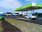 Pictured is a preliminary rendering of what Hamilton's CNG station may look like. Photo via facebook/City of Hamilton