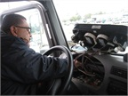 <p><strong><em>A technician installs a telematics device on one of the City of Houston's fleet vehicles. Photo courtesy of City of Houston</em></strong></p>