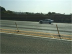 Some freeways have added physical barriers, such as poles, to discourage illegal lane changes into HOV/HOT lanes.