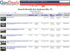 The City of Jacksonville's  online auction patnership will allow the City to sell surplus items quicker.