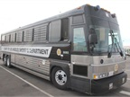 Photo of new L.A. County Sheriff's MCI prisoner bus.