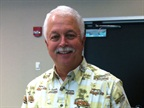 Mike Grace is pictured here during his retirement luncheon in July.