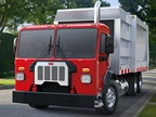 Photo of the Model 520 courtesy of Peterbilt.