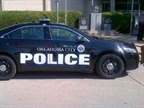 The new Ford Police Interceptors outfitted with police equipment and the City seal.