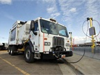 Salt Lake County's new CNG fueling station will be used to fuel up its refuse trucks. Photo courtesy of Salt Lake County