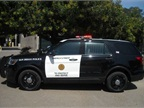 Photo of new Ford Police Interceptor Utility courtesy of City of San Diego.