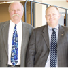 Dennis Brooks (left) and Dave Snow have accepted new positions in fleet management with Santa Clara County.