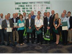 Sustainability All-Star award recipients are pictured after the awards ceremony.<br />