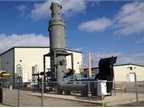 "THE SWACO landfill ""gas to energy"" facility generates natural gas for the pipeline. Photo courtesy of MEMA"