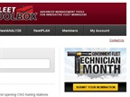 If you are already a member of Fleet Toolbox, you can nominate a technician by clicking on the banner on the right-hand-side, as shown above.
