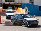 Photo of the U.S. arrival of the 2016 Toyota Mirai.