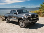 Photo of 2016 Tacoma SR5 Access Cab courtesy of Toyota.