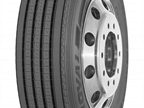 Uniroyal LS24 long-haul steer tire.