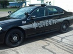 Pictured is a Washtenaw County Sheriff's Office Impala with the new gray graphics. Photo courtesy of Washtenaw County.