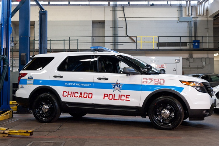 chicago police department ford 39 s p i utility photo gallery government fleet. Black Bedroom Furniture Sets. Home Design Ideas