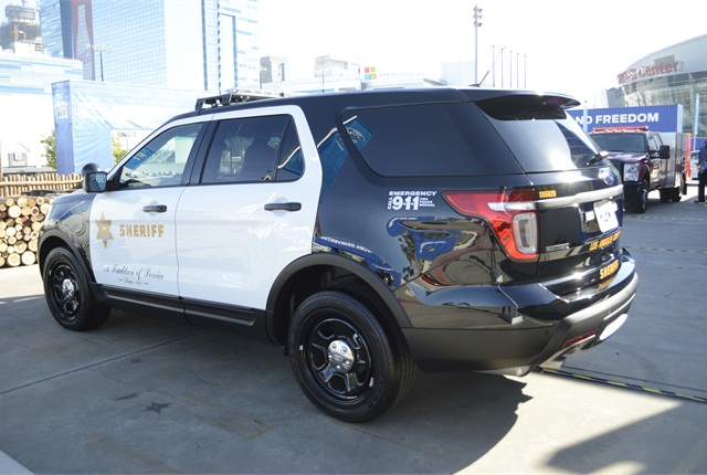 Ford Police Interceptor Utility used by the Los Angeles ...