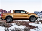 The new Ranger will be mainly composed of high-strength steel, but