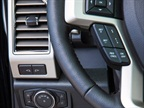 Buttons clustered for ease of use: All lighting controls - headlamps,