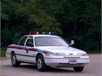 1992 Ford Crown Victoria Photo courtesy of Ford