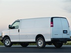 A 31-gallon fuel tank is standard on most Chevrolet Express models.