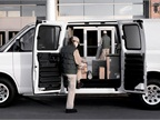 This is the largest GMC cargo van, the Savana 3500 and is available