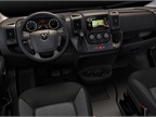 Inside, seating options include single or bench seats. Ram Truck