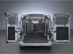 The van offers 122.7 square feet of cargo space.