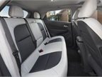 Rear seating accommodates three.