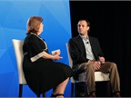 Mary Brigden (left), VP of enterprise sales for Verizon Telematics,