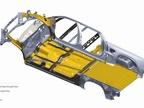 Advanced materials include advanced high strength steel, high strength