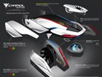 BMW Group DesignworksUSA. The BMW Group's E-Patrol (Human-Drone
