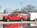 Fleet managers tested the F-150's trailering capabilities during