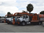 VacCon trucks are used for storm sewer cleaning.