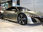 Acura also showed its NSX Concept at the LA Auto Show.