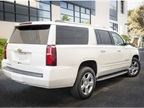 The 2015 Suburban arrives with a standard rear-view camera system as