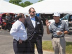 (L-R) Alan Batey, executive VP and president, North America for GM,