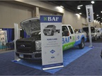 BAF showed its CNG conversion technology capabilities at the event.