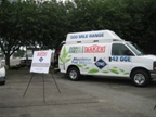 Baker Equipment showed a CNG-fueled van at the event.