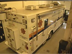 The Sheriff's Office purchased this mobile command post in 2008. It is built on a Freightliner chassis.<br />