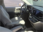 The cabin offers upgrades from the company s current minivan models.