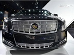 Cadillac had its all-new XTS at the show.