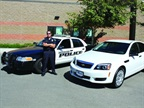 The Montclair (Calif.) Police Department s Chevrolet Caprice (right).