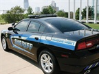 The Oklahoma County Sheriff s Dodge Charger.