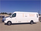 The van is rated at 16,500 lb. GVWR with a maximum payload rating of