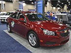 GM brought its new diesel version of its Chevrolet Cruze to GFX.