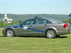 The Kentucky State Patrol s Chevrolet Caprice PPV.
