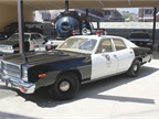 1978 Plymouth Fury Photo courtesy of Los Angeles Police Museum