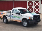 When the 3.7L V-6 F-150 is equipped with a CNG/LPG engine package, it is capable of achieving more than 750 miles on one tank of gas, depending on the tank size selected. The Ford F-150 averages 23 mpg on the highway.
