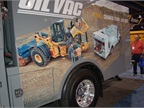 More than 2,400 vendors display product, including Sage Oil Vac, a