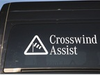 Crosswind Assist is now standard in the Sprinter for MY-2015. This
